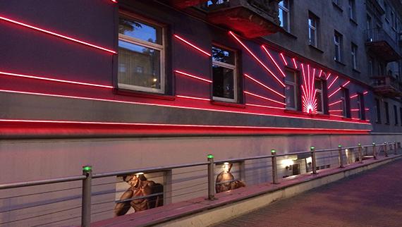 Soho - lgbt club in Vilnius.